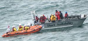 4 June 2017 – Exercise with Dart Sailability & Dart RNLI
